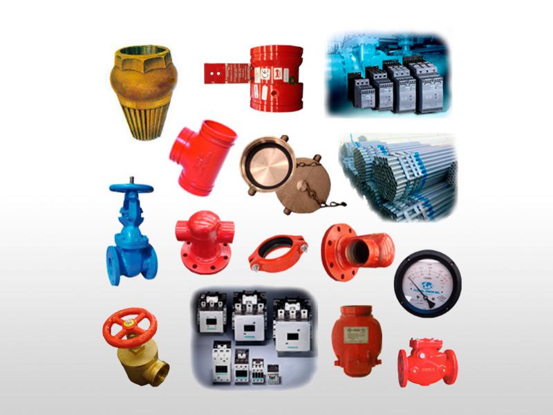 Accesorios eléctricos e hidráulicos