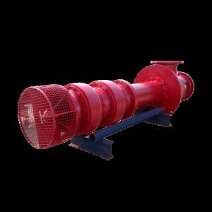 Bomba Centrifuga Turbina de eje vertical